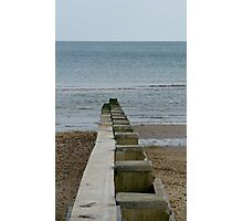 Into The Mystic (Sea) Photographic Print