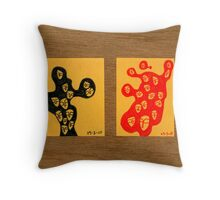 Tiny Diary: Where to? Throw Pillow