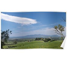 View from Foster to Wilsons Promontory, Victoria. Poster