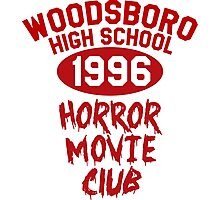 Woodsboro High Horror Movie Club 1996 Photographic Print