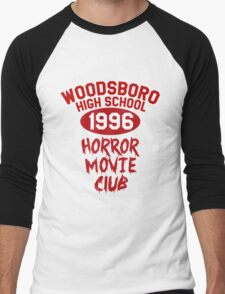 Woodsboro High Horror Movie Club 1996 Men's Baseball ¾ T-Shirt