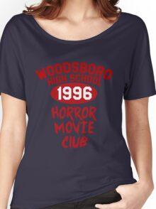 Woodsboro High Horror Movie Club 1996 Women's Relaxed Fit T-Shirt