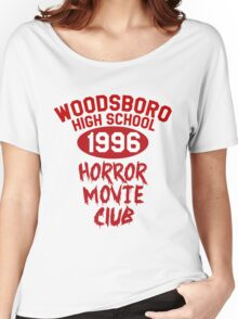 Woodsboro High Horror Movie Club 1996 Women's Relaxed Fit T-Shirt