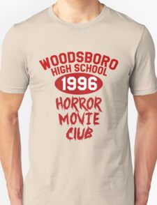 Woodsboro High Horror Movie Club 1996 T-Shirt