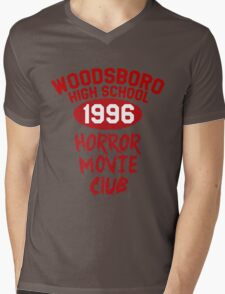 Woodsboro High Horror Movie Club 1996 Mens V-Neck T-Shirt