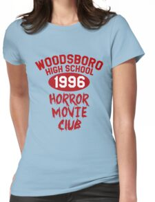 Woodsboro High Horror Movie Club 1996 Womens Fitted T-Shirt