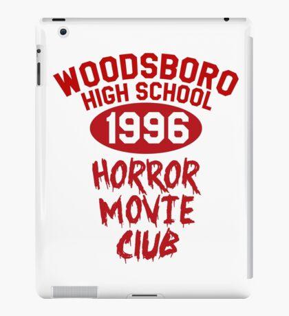 Woodsboro High Horror Movie Club 1996 iPad Case/Skin
