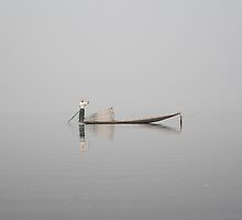 Inle Lake Illusion 2 by chobin
