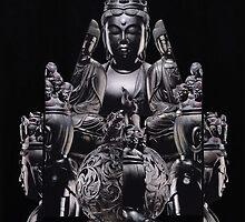 L'offrande à Bouddha by michel pepy