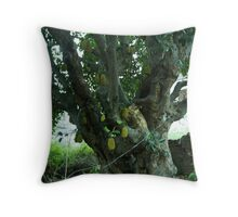 bean & the jack stalk Throw Pillow