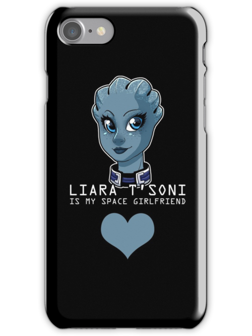 Liara Is My Space Girlfriend by Maggie Davidson