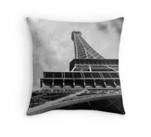 Eiffel Tower in Paris Throw Pillow