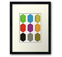 Zelda Rupees Framed Print