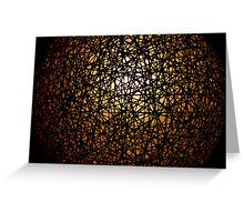 Emerging from the darkness Greeting Card
