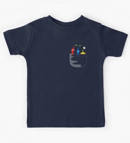 Pikmin Pocket Tee Kids Tee