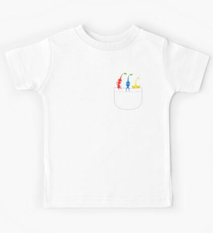 Pikmin Pocket Tee Kids Tee