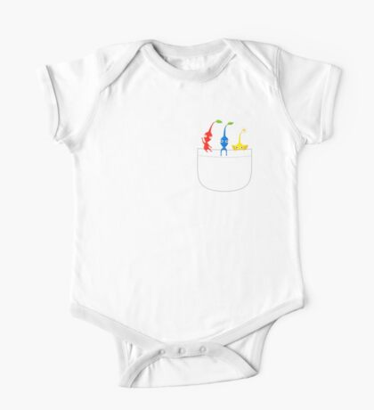 Pikmin Pocket Tee One Piece - Short Sleeve