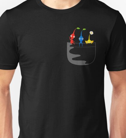 Pikmin Pocket Tee Unisex T-Shirt
