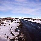 A Winters Road #2 by Trevor Kersley