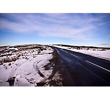 A Winters Road #2 Photographic Print