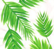 Waving Palm Leaves by NelmaHiggins