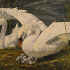 On the nest by Beatrice Cloake Pasquier