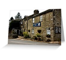 White Lion Inn  -  Cray. Greeting Card
