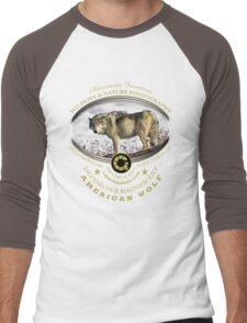 american wolf Men's Baseball ¾ T-Shirt