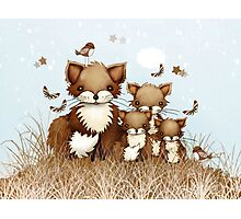 Little Foxes Photographic Print