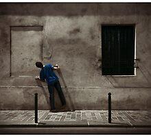 Dummest peeping tom by Richard Vantielcke