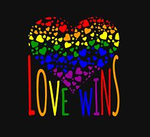 Love Wins, Marriage Equality T-Shirt design. Unisex T-Shirt