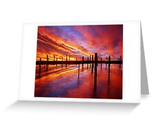 Time Stands Still Greeting Card