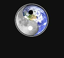 balance for our good earth and moon Womens Fitted T-Shirt