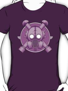 Art Deco Lilac Gasmask T-Shirt