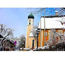 German Church Photographic Print
