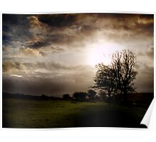 Dartmoor Storms Poster