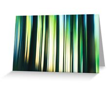 forest impressions I Greeting Card
