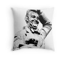 Stan Laurel - Laurel & Hardy Throw Pillow
