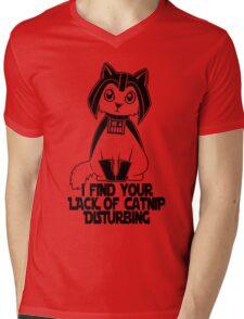 Darth Kitty Mens V-Neck T-Shirt