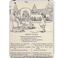 Miniature Under the Window Pictures & Rhymes for Children Kate Greenaway 1880 0024 Prince Finikin iPad Case/Skin