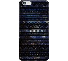Aztec Black Galaxy Blue iPhone Case/Skin