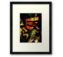 The Power Of Three (Dark World Ed.) Framed Print