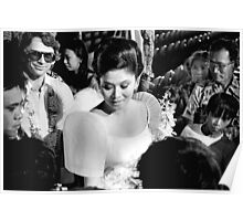 Imelda Marcos Working The Crowd. 1981 Poster