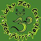 Lucky in Green by luckyzencat