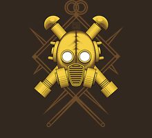 Tribal Gold Gasmask Unisex T-Shirt
