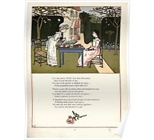 Under the Window Pictures and Rhymes for Children Edmund Evans and Kate Greenaway 1878 0021 Merry Phillis Poster