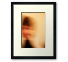 Passing Persona Framed Print