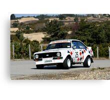 Ford Escourt Rally  Canvas Print