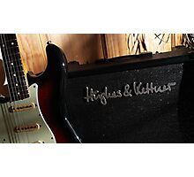 Guitar Icon : '62 Strat ... & amp Photographic Print