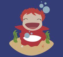 Ponyo Loves You!! by HappyApple